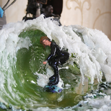 Surf Diorama: The Green Room