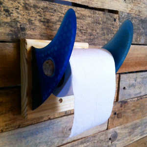 Surfer-style Toilet Roll Holder